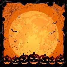 halloween background and pumpkins u2014 stock vector losw 30982185