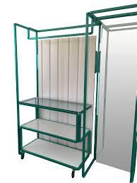 closet green exhibitor wardrobe 160x40x200h
