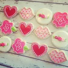 Valentine S Day Sugar Cookies Decorating Ideas by 808 Best Valentines Day Cookies Images On Pinterest Valentine