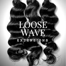 body wave vs loose wave hair extension loose wave hair extensions brazilian hair 10 32 lengths