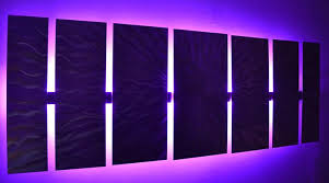 cosmic energy led large lighted wall by brian jones