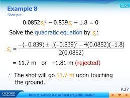 6 2 general projectile motion ppt video online download