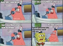 Meme Comic Indonesia Spongebob - komik meme curan indonesia spongebob patrick di krusty krab