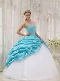 cinderella quinceanera dress aqua blue and white cinderella quinceanera dresses in west ct