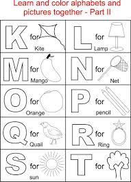alphabet coloring pages alphabet