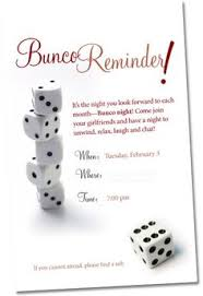 host a and fabulous get together by bunco here are