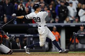 Aaron Judge Joins An Exclusive Club Of Yankees All Stars Pinstripe - how the yankees giancarlo stanton trade helps aaron judge