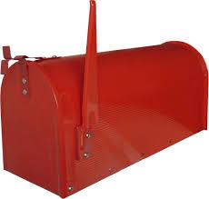 cassetta della posta americana domus usa r cassetta postale stile usa acciaio verniciato rosso
