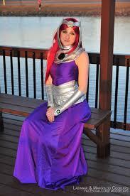 Starfire Costume Starfire Formal Gown Cosplay In The Gazebo U2014 Weasyl
