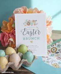 easter brunch invitations 11 easter brunch diy ideas