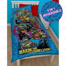 teenage mutant ninja turtles duvet covers u2013 single bedding sets