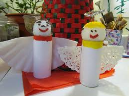 christmas crafts with toilet paper rolls images craft decoration