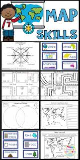 Maps Direction Best 25 Map Skills Ideas On Pinterest Teaching Map Skills Map