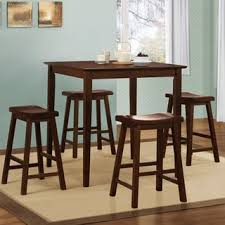 V Steam Chair Salvador Saddle Back 24 Inch Counter Height Backless Stool Set Of