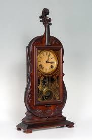 antique seth thomas violin clock