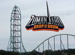 Six Flags Great Adventure Reviews Newsplusnotes Dropping In On Zumanjaro Drop Of Doom At Six Flags