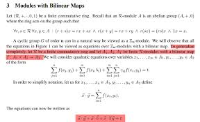 bilinear map is it an exle of bilinear pairing cryptography stack exchange