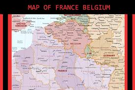 Champagne France Map by Map Of France Belgium Travel