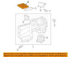 lexus ls 460 air conditioner filter toyota oem cabin air filter 8713950100 ebay