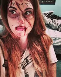 halloween makeup wax bad plastic surgery horror halloween makeup used liquid latex