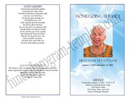 funeral program covers bifold funeral program single fold memorial booklet