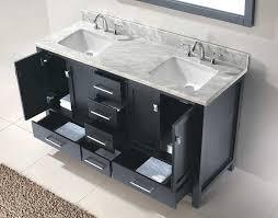 round bathroom vanity cabinets virtu usa caroline avenue 60 double bathroom vanity cabinet set in