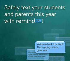 remind 101 parent letter first grade pinterest remind 101