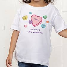 valentines day t shirts personalized s day toddler t shirt candy hearts