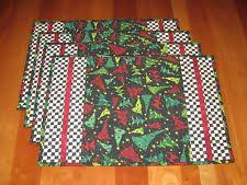 quilted placemats ebay