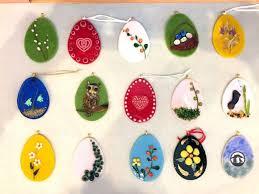 glass easter egg ornaments i heart oswego riverside artisans plans fused glass easter egg