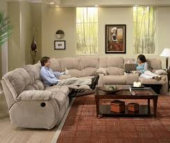 furniture luxury red pattern area rug and fancy overstuffed couch