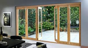 Accordion Glass Patio Doors Cost Folding Glass Patio Doors And Door Design Inspired Ideas For Glass