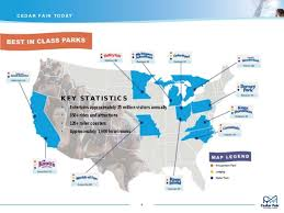 cedar fair parks map 1701 investor presentation