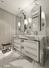 Waterfall Bathroom Furniture Marble Waterfall Countertop Contemporary Bathroom Michael