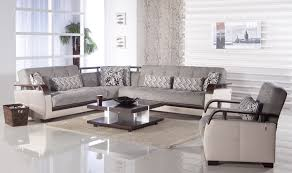 furniture living room white granite flooring brown fur rug