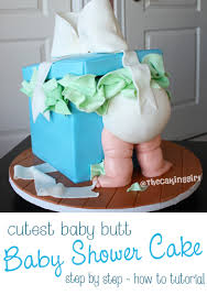 baby bottom cake thecakinggirl how to make a gift box baby cake tutorial
