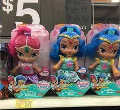 singing birthday shimmer and shine singing birthday wishes dolls only 5