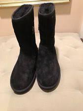 ugg womens karyn boot ugg australia zip suede mid calf boots for ebay