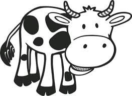 cow coloring pages for free baby cow gianfreda net