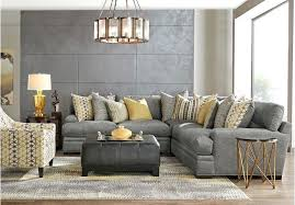 gray living room chair cindy crawford living room collection living room furniture picture