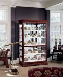 nsl under cabinet lighting amazon com howard miller 680 235 townsend curio cabinet by