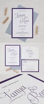 wedding invitations nz simple script wedding invitations be my guest