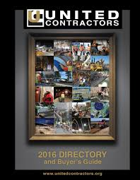united contractors directory 2016 by united contractors issuu