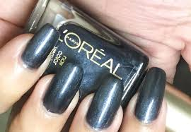 l u0027oreal nail polish stroke of midnight swatches love for nail
