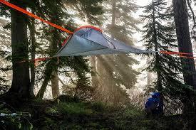 mid air camping tentsile flite u0027hanging tent u0027 review