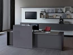 Modern Office Reception Desk by Loop Office Reception Desk By Estel Group