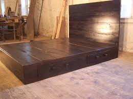 Building A Platform Bed With Storage Drawers by Best 25 Bed With Drawers Ideas On Pinterest Bed Frame With