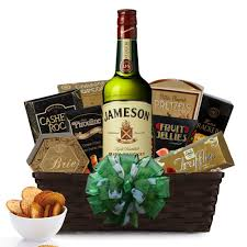 liquor gift baskets buy whiskey gift basket think liquor