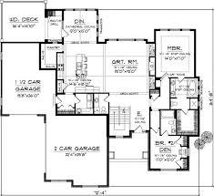 Craftsman Style Homes Floor Plans 15 Best House Plans Images On Pinterest House Floor Plans