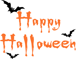 animated happy halloween clipart images black and white free png